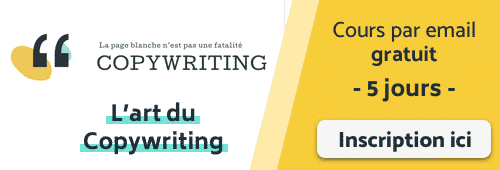 Formation gratuite Copywriting