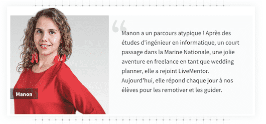Manon LiveMentor
