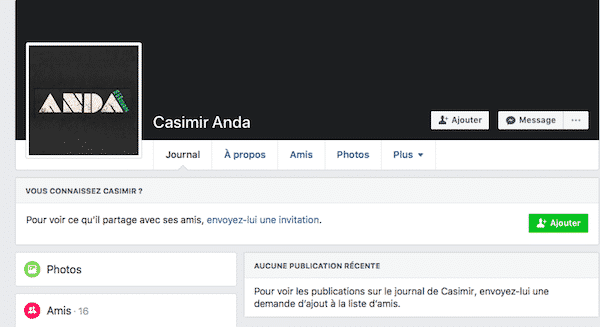 trouver clients facebook
