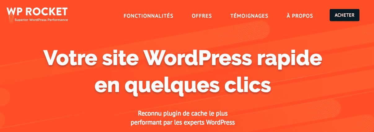 plugin de mise en cache wordpress