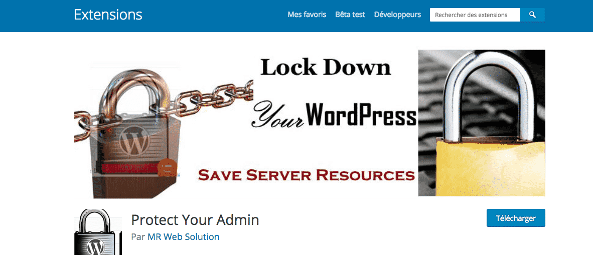 plugin pour protéger son wordpress