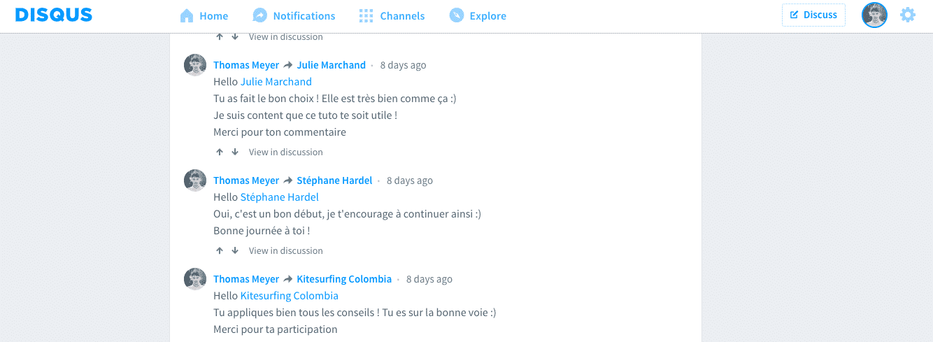 plugin de commentaires disqus pour wordpress