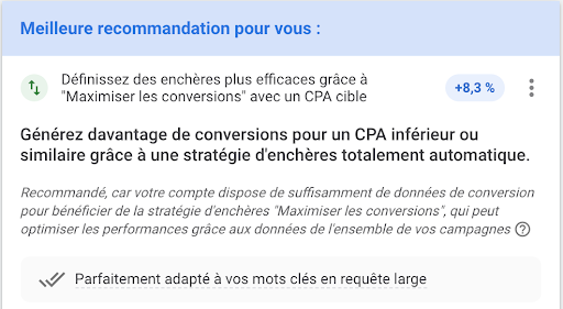 Recommendations Google