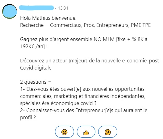 cold email exemple 2
