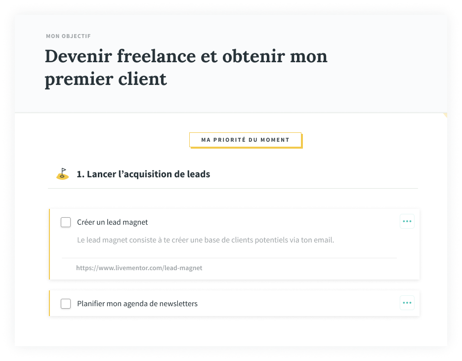 Mentor formation freelance