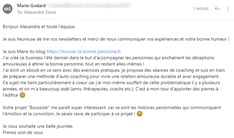 Commentaire Marie
